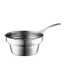 2.2-Qt. Stainless Steel Double Boiler Insert