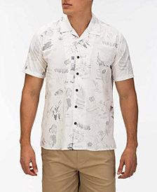 Hurley Men's Doom Classic-Fit Printed Camp Shirt