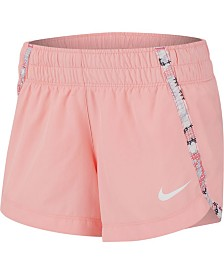 Nike Big Girls Printed-Trim Dri-FIT Shorts