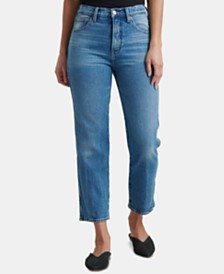 Lucky Brand Straight Cropped Jeans