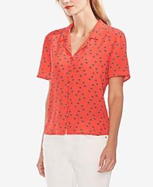 Printed Button-Down Shirt