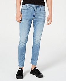 Men's D-Staq Elto 3D Skinny Fit Jeans, Created for Macy's
