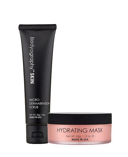 Bodyography Facial Scrub and Facial Mask