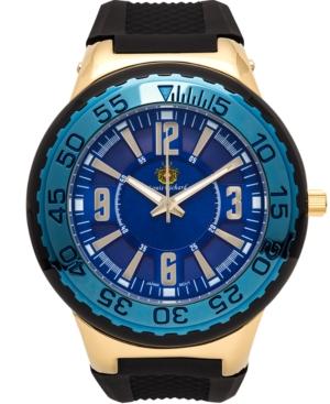 Pendragon Men's Watch Black Silicone Strap