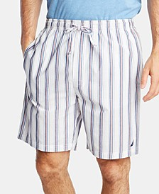 Men's Cotton Striped Pajama Shorts