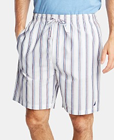 Nautica Men's Cotton Striped Pajama Shorts