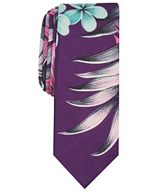 Original Penguin Men's Tomasini Floral Skinny Tie