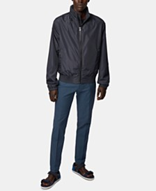 BOSS Men's Costa1 Water-Repellent Blouson Jacket