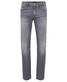 BOSS Men's Delaware3-1 Slim-Fit Italian Stretch-Denim Jeans