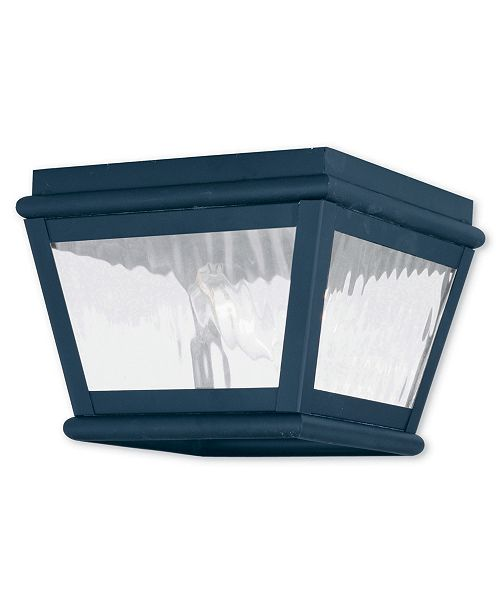 Livex Exeter 2-Light Outdoor Ceiling Mount