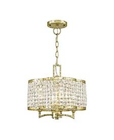 Grammercy 4-Light Convertible Mini Chandelier/Ceiling Mount