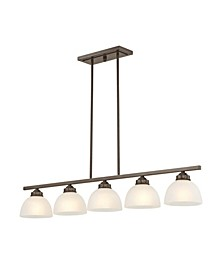 Somerset 5-Light Linear Chandelier
