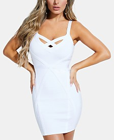GUESS Mirage Strappy Bandage Dress