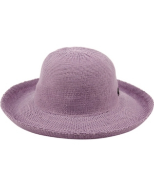 Hippie Hats,  70s Hats Wide Brim Sun Bucket Hat with Roll Up Edge $20.00 AT vintagedancer.com