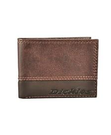 Bifold Slim Single Fold Men's Wallet