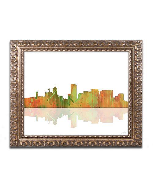Trademark Global Marlene Watson 'Portland Oregon Skyline