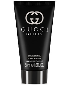 Receive a Complimentary Gucci Guilty Pour Homme Shower Gel with any Gucci Guilty Pour Homme Large Spray purchase from the Gucci Guilty Men's Fragrance Collection