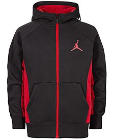 Jordan Toddler Boys Speckle Zip-Up Hoodie, Created For Macy's