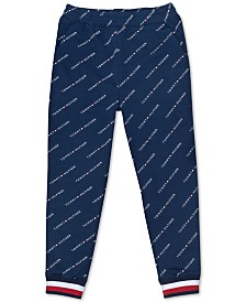 Tommy Hilfiger Big Girls Logo-Print Sweatpants