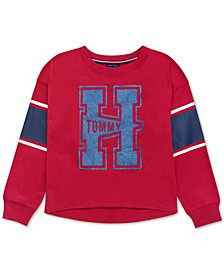 Big Girls Tommy-Print Sweatshirt