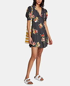 Neon Garden Mini Dress