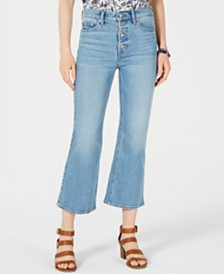 Lucky Brand Bridgette Button-Fly Flare Jeans