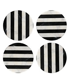 Thirstystone Set of 4 striped Marble Coasters