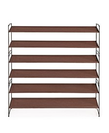 Vela Stackable 2 Tier Shoe Rack