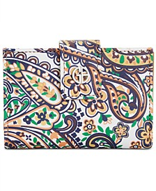 Paisley Framed Indexer Wallet, Created for Macy's