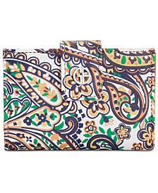 Giani Bernini Paisley Framed Indexer Wallet, Created for Macy's