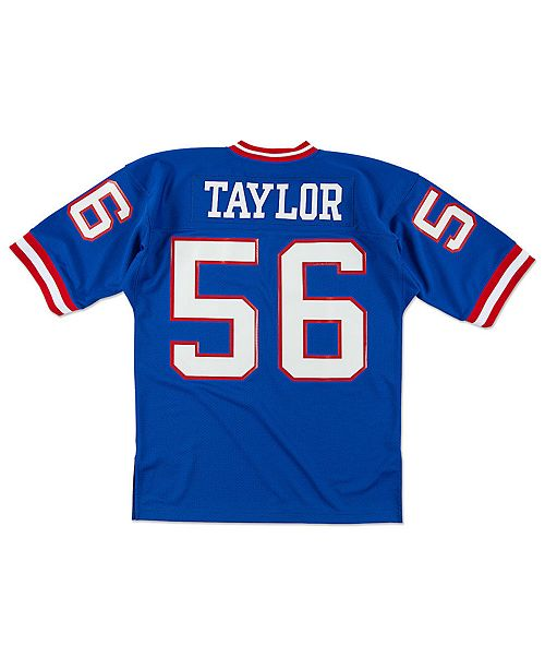sale retailer 8319c 7db8c Men's Lawrence Taylor New York Giants Authentic Football Jersey