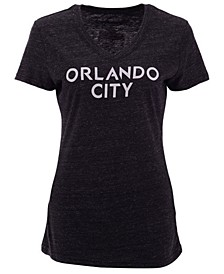 Women's Orlando City SC Official Wordmark Tri-Blend T-Shirt