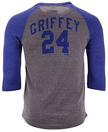 Men's Ken Griffey Jr. Seattle Mariners Coop Batter Up Raglan T-Shirt