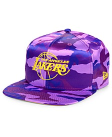 Los Angeles Lakers Satin Camo 9FIFTY Cap