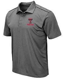 Colosseum Men's Texas Tech Red Raiders Eagle Polo