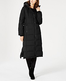 Oversized Hooded Maxi Puffer Coat