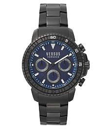 Versus Men's Black Bracelet Watch 22mm