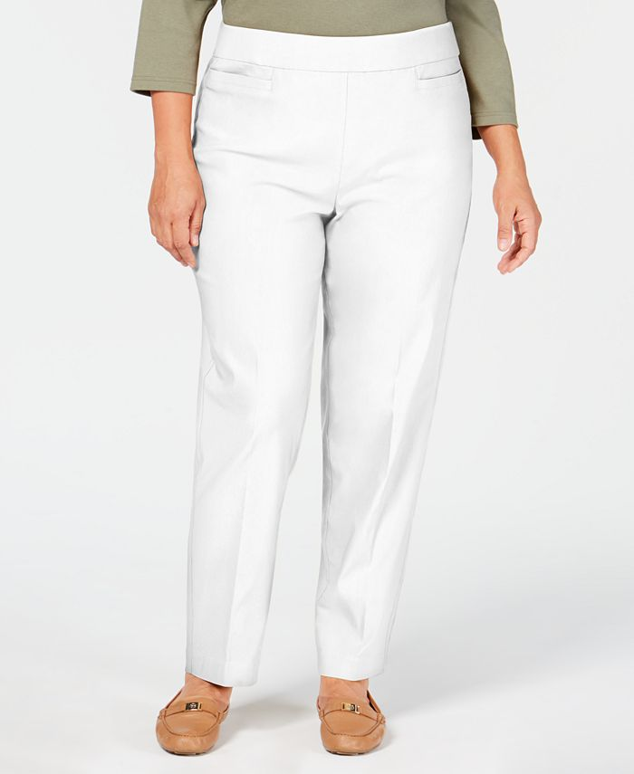 Alfred Dunner - Plus Size Pull-On Pants