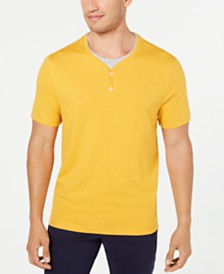 Tasso Elba Men's Layered-Look T-Shirt, Created for Macy's
