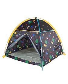 Galaxy Dome Tent W/ Glow In The Dark Stars