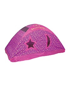 Pacific Play Tents Secret Castle Bed Tent - 77 In X 54 In X 42 In - Full
