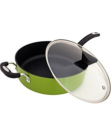 Green Earth All-In-One Sauce Pan with APEO-Free Non-Stick Coating