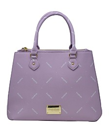 Bebe Jasmine Triple Entry Satchel