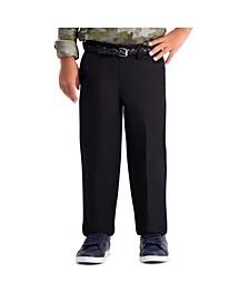Little Boys Cool 18 Pro, Reg Fit, Flat Front Pant