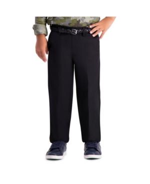 Haggar Little Boys Cool 18 Pro, Reg Fit, Flat Front Pant