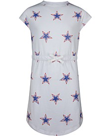Big Girls Cotton Star-Print Dress