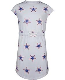 Big Girls Cotton Star-Print Dress