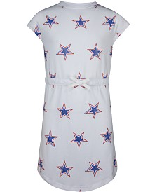 Converse Big Girls Cotton Star-Print Dress