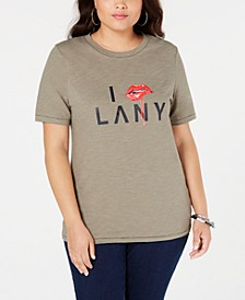 Plus Size Cotton Graphic T-Shirt