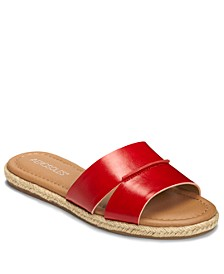 Back Drop Slide Sandals